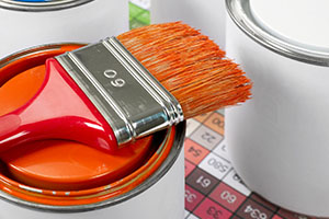 Paint can and brush | Maroon Group